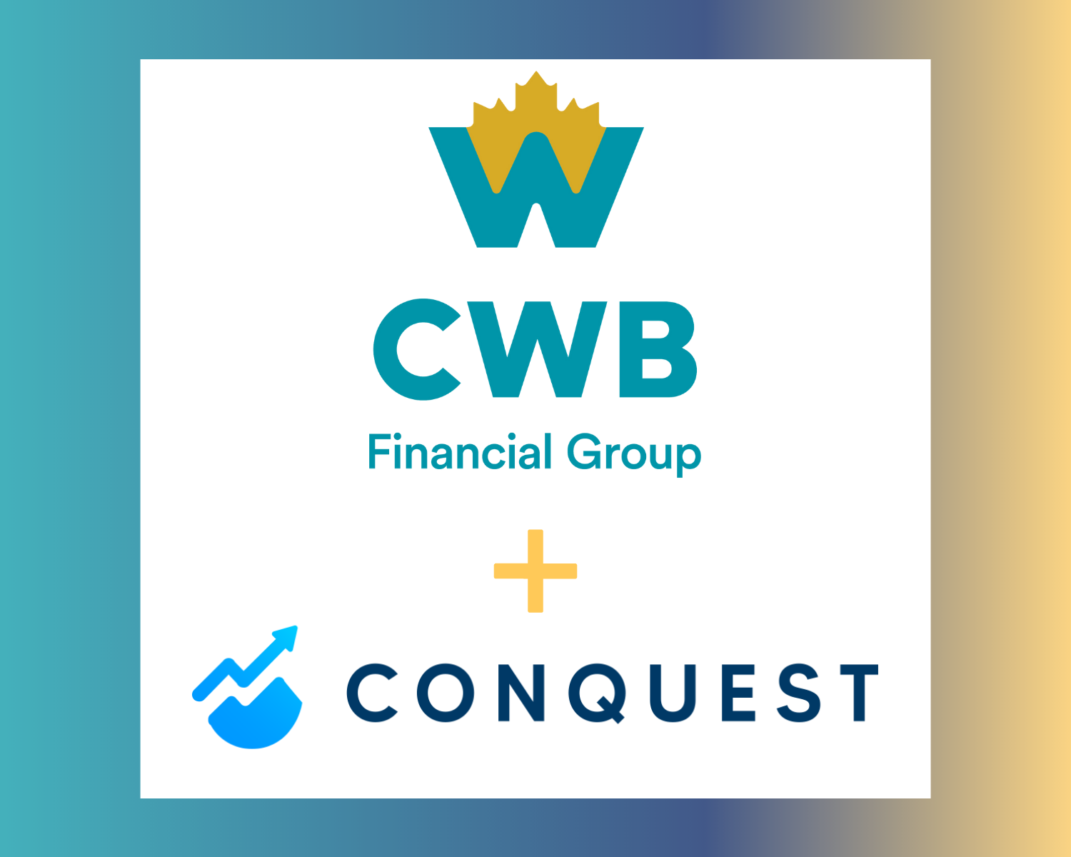 Press Release: CWB becomes first Canadian Schedule 1 bank to partner with Conquest, elevating the wealth experience